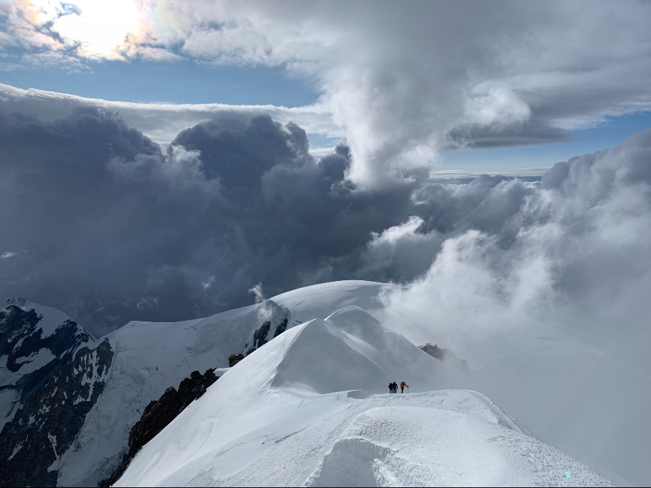 Ascension du Mont Blanc stage 5 jours 4