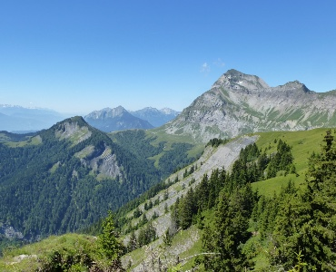 initiation trail en montagne, saint Nicolas la chapelle, aravis, stage trail